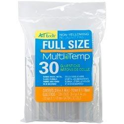 "Price comparison product image Bulk Buy: Ad-Tech Multi Temp Glue Sticks 7 / 16""x4"" 30 / Pkg 14ZIP30M (3-Pack)"