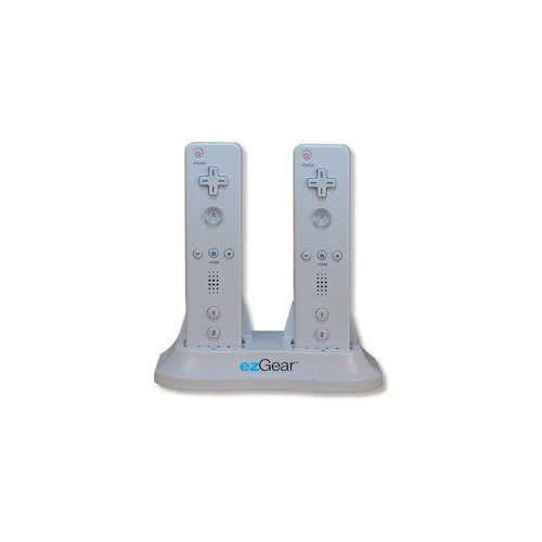 Ezgear Wii Power Play Duo Charges 2 Remotes