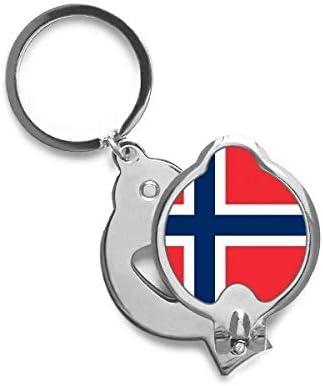 DIYthinker Noruega Bandera Nacional Europa País de uñas ...