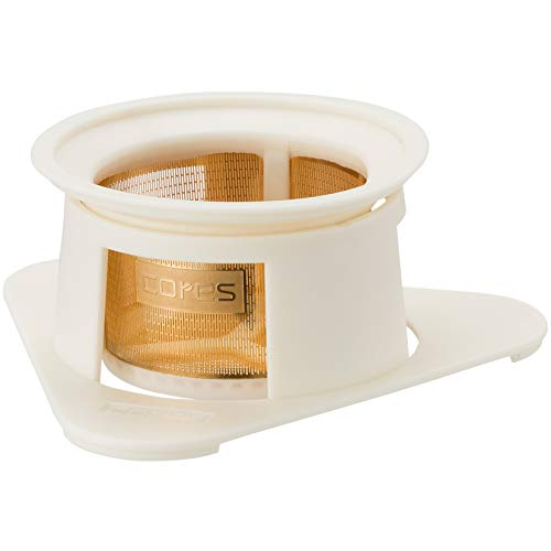 Cores Cores Coffee Filter White Single cup gold filter C210WH  744
