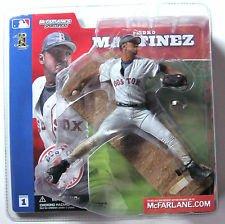 McFarlane Toys MLB Sports Picks Series 1 Action Figure Pedro Martinez (Boston Red Sox) Gray Jersey Variant by Unknown (Series Pick Figure 1 Mcfarlane)