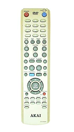 New Akai TV/VCR/DVD Combo Remote Control AA59-00323C 00323B Supplied with models: CFTD2085 CFTD2785 CXM2785 CXM2785TP