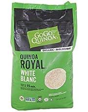 GoGo Quinoa Gluten Free Organic White Grain Royal Non GMO Vegan Quinoa 1.8kg