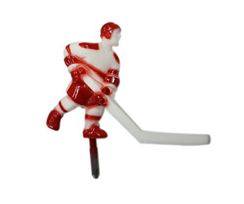 Super Chexx Red & White Player with Short Stick
