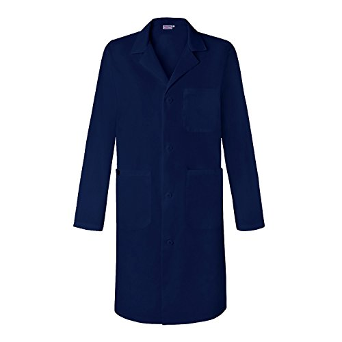 Sivvan Unisex 39 inch Lab Coat - Back Pleated - S8802 - Navy - L - Red Kap Womens Lab Coat