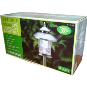 Westinghouse Set of 8 Landscape Lights - Bronze 545388