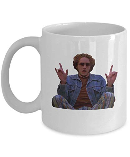 Steven Hyde That 70s Show Coffee Mug Cup (White) 11oz Funny That 70s Show Tv Sitcom Quote Gift Merchandise Accessories Decal Decor Sticker Pin Shirt P