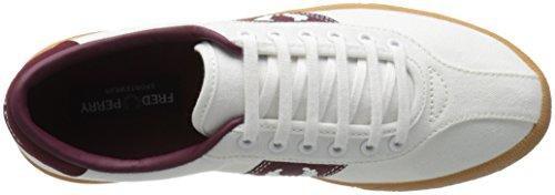 Fred Perry B1 Tennis Shoe Canvas snow white - zapatillas hombre - Blanco, BLANCO, 45