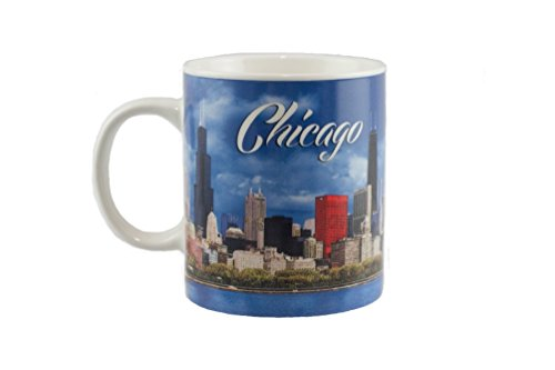 City of Chicago Skyline Coffee Mug 12 oz. -