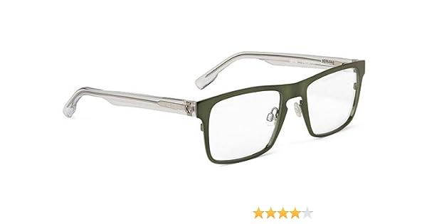93e561b1bd2e Amazon.com  Spy Optic Spy Optic Heath Eyeglasses - Olive Frame   Clear Lens  SRX00073  Sports   Outdoors