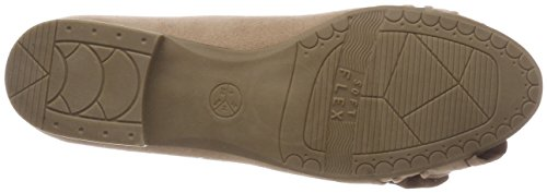 Softline Women's 22167 Ballet Flats Pink (Powder) dPgxJ