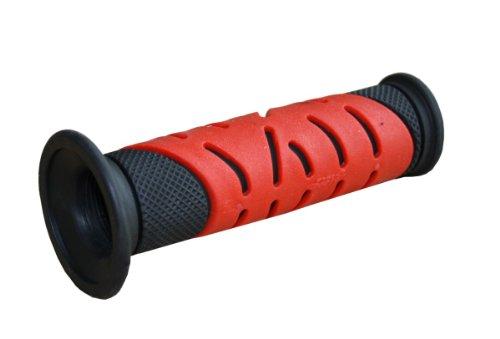 Progrip 719BlackRed 719 Superbike Grips, Black/Red