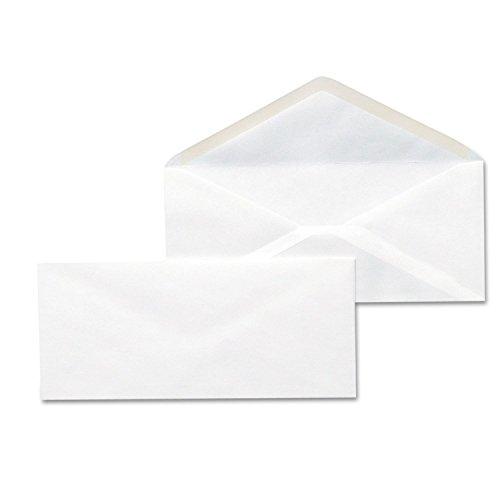 - Universal Business Envelopes with Gummed Flap, 10, 4 1/8