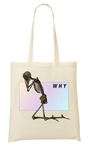 Bolsa CP Sad Skeleton Internet Mano La De Bolso De Compra YnrqY7wA