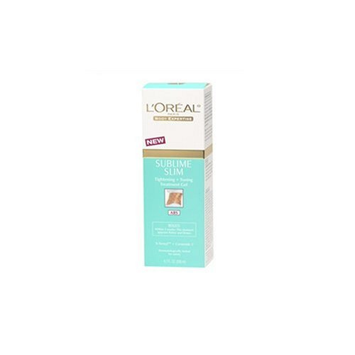 L'Oreal Body Expertise Sublime Slim Tightening and Toning Treatment Gel, Abs, 6.7-Ounce Tubes (Pack of 2)