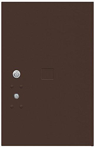 6 Tenant Doors (Salsbury Industries 3756P-BRZ Replacement Parcel Locker Door and Tenant Lock for Standard 6 H 4C Horizontal Parcel Locker with Keys , Bronze)