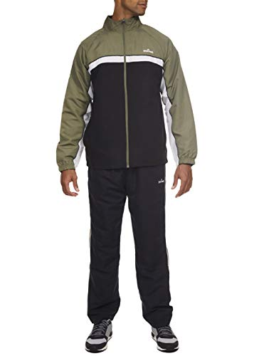 Spalding Pre-Game Hoops Woven Tracksuit Windsuit Olive Camo -