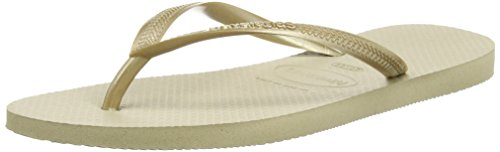 Havaianas Slim, Chanclas Mujer Marrón (Dark Brown 0727)