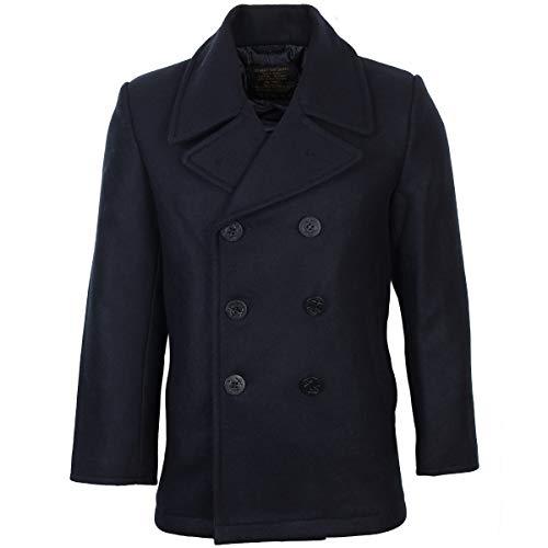 Mil-Tec US Navy Pea Coat (Dark Blue, 43-44 inch