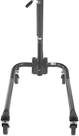 Drive Medical Hydraulic Patient Lift | Six Point Cradle, 5-Inch Casters | Silver Vein 31rN3jaekGL