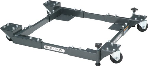 (Shop Fox D2057A Adjustable Mobile Base, Small)