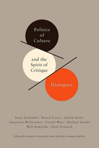 Politics of Culture and the Spirit of Critique: Dialogues (New Directions in Critical Theory) ebook