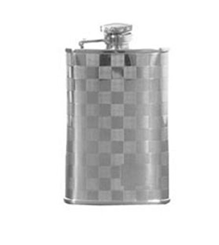 Checkered Design Hip Flask (Design Hip Flask)