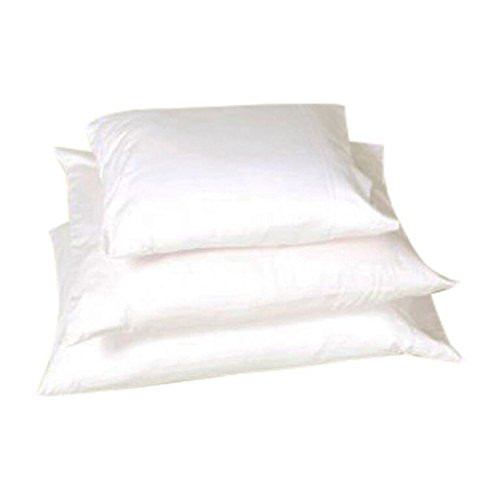 White Lotus Home KSP03 Kapok Sleep Pillow with Organic Sateen Outer Case,Natural,20x26 - Standard Firm Pillow