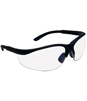 Eyeglass Frames For Narrow Bridge : SafetyGear by PIP 250-21-0402 HV AC Safety Glasses Indoor ...