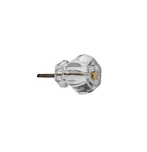 Polished Brass Small Knob - 8