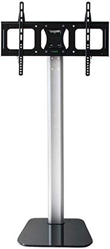 テレビスタンド ユニバーサルフロアテレビ32〜65インチの液晶テレビアジャスタブルスイベルマウント高のスタンド モニター台 (Color : Black, Size : 37-60 inches)