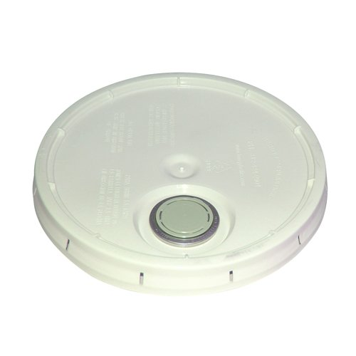 Bon 84-233 Plastic Bucket Lid with Pouring Spout for 3-1/2 or 5-Gallon Bucket Ash 02 Ash Bucket