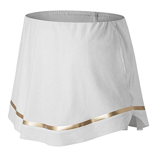 (New Balance Women`s Tournament Tennis Skort White (Medium - TennisExpress) )