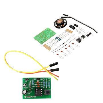 SumoTik 10pcs DIY NE555 Dong Bell Doorbell Module Kit DIY Music DIY Electronic Production Training Kit, Arduino Compatible SCM & DIY Kits Arduino Compatible Kits & DIY Kits