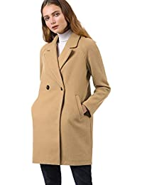Women's Notched Lapel Double Breasted Raglan Winter Coats