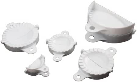 Paderno World Cuisine Set of Five Dumpling Molds