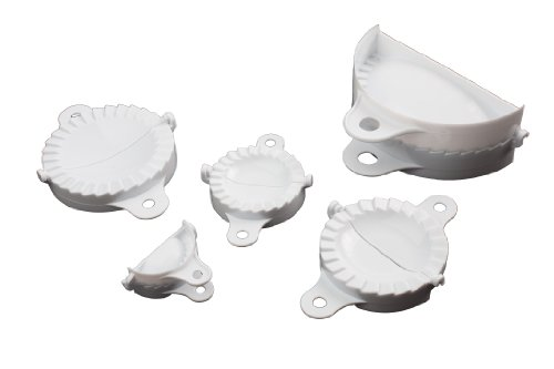 Dough Press Set (Paderno World Cuisine Set of Five Dumpling Molds)