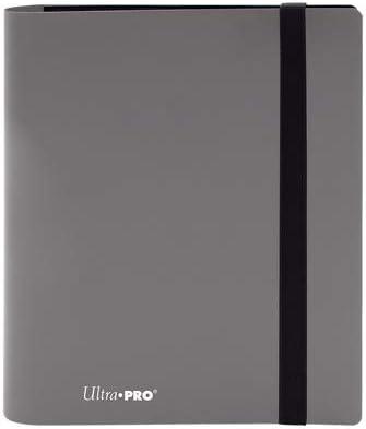 Ultra Pro E-15386 Eclipse 4 Pocket Pro Binder-Smokey Grey