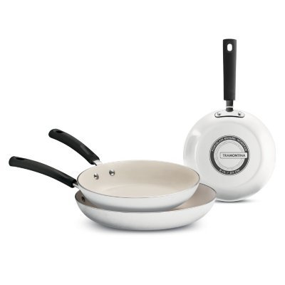 Tramontina Ceramic-Reinforced Nonstick Fry Pans, Set of 3 (pack of 6)