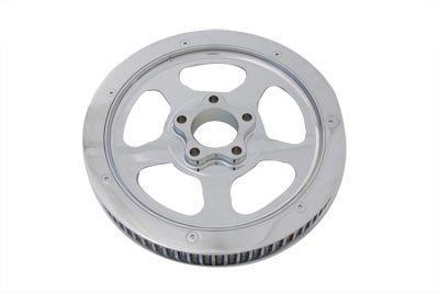 - V-Twin 20-0354 - Rear Drive Pulley 70 Tooth Chrome