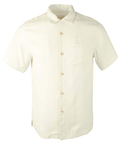 Tommy Bahama Men's Royal Bermuda Camp Shirt Continental Small