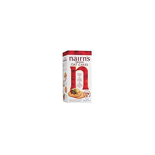 (12 PACK) - Nairns Rough Oatcake| 291 g |12 PACK - SUPER SAVER - SAVE MONEY NAIRN' S OATCAKES