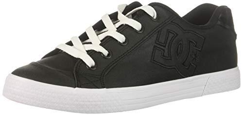 Image of DC Women's Chelsea TX SE Skate Shoe, Black/Leopard, 8.5 B M US