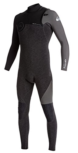 Quiksilver Mens 3/2Mm Highline Series - Zipperless Wetsuit Zipperless Wetsuit Black (Highline Series)