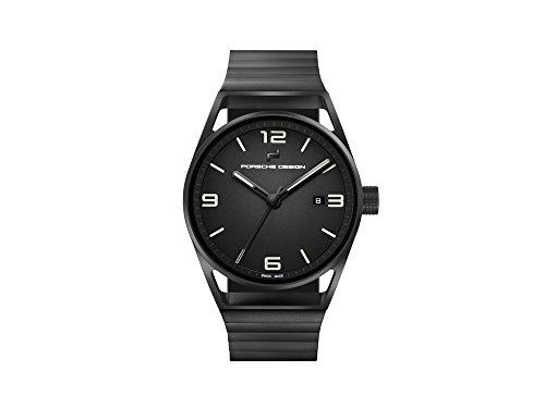 Porsche Design 1919 Datetimer Eternity Automatic Watch, Titanium, Black