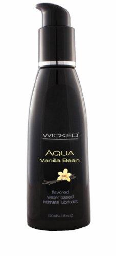 Siam Circus 5 Wicked Sensual Care Aqua Water Based Vanilla Bean Flavored Lube 4oz Wholesale