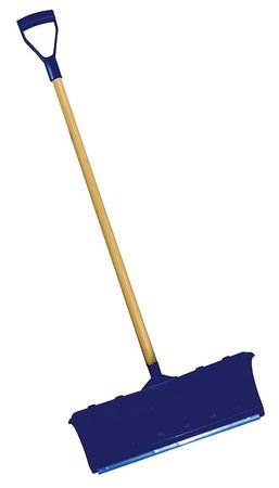 Snow Pusher, 22 1/4 In. W, -