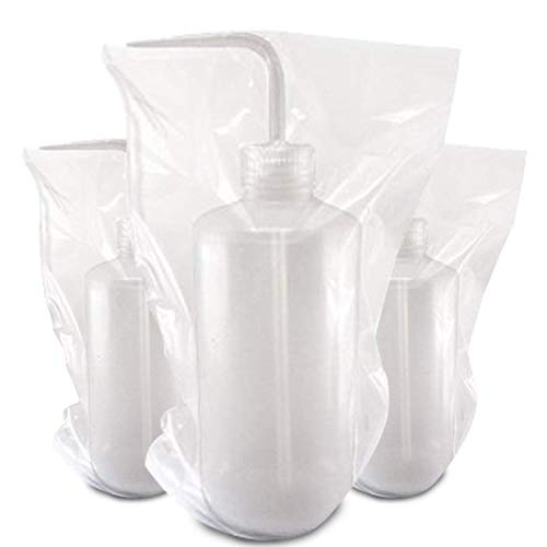 Romlon Tattoo Wash Bottle Bags, Disposable 250pcs/box Tattoo Wash Bottle Covers Sleeves Squeeze Bottle Bag Sleeves Barrier Supplies for Tattoo Accessories Tattoo Kits White