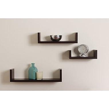 Floating U Shelf (Set of 3)