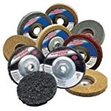 Depressed Center Wheels, 4.5 X 7/8, Extra Coarse S/C, 12000 rpm, Silicon Carbide (6 Pack)